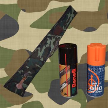 Limpieza y almacenaje de armas